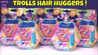 Dreamworks Trolls Surprise TOYS Hair Huggers Blind Bags Series 9 Opening