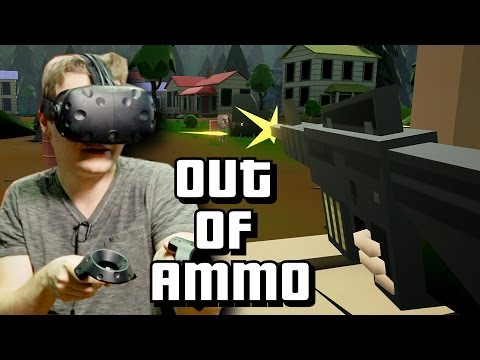 VR FPS Military Base Defense - Out Of Ammo