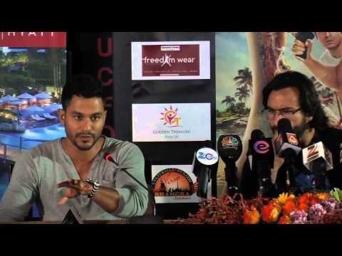 Saif Ali Khan and cast of Go Goa Gone in Dubai