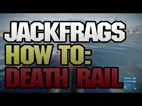 Battlefield 3 machinima - Battlefield 3 Death Rail Jet Tutorial - Jackfrags - Gameplay Commentary - 1080p