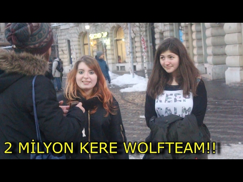 2 MİLYON KERE WOLFTEAM !! (Romanya- Bükreş)