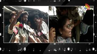 Students Protest At CM KCR Camp Office Pragathi Bhavan | Inter Results Goof Up  News