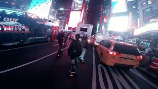 Electric skateboards in New York City 2018