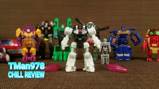 Transformers SIEGE Firedrive Battle Masters CHILL COMPARISON REVIEW
