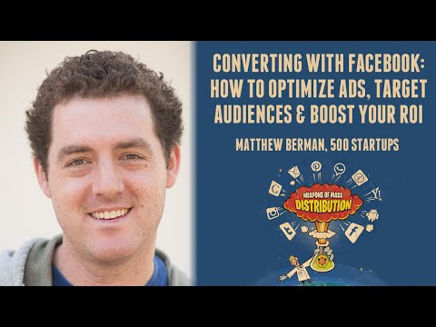 [500DISTRO] Converting with Facebook: How to Optimize Ads, Target Audiences & Boost Your ROI
