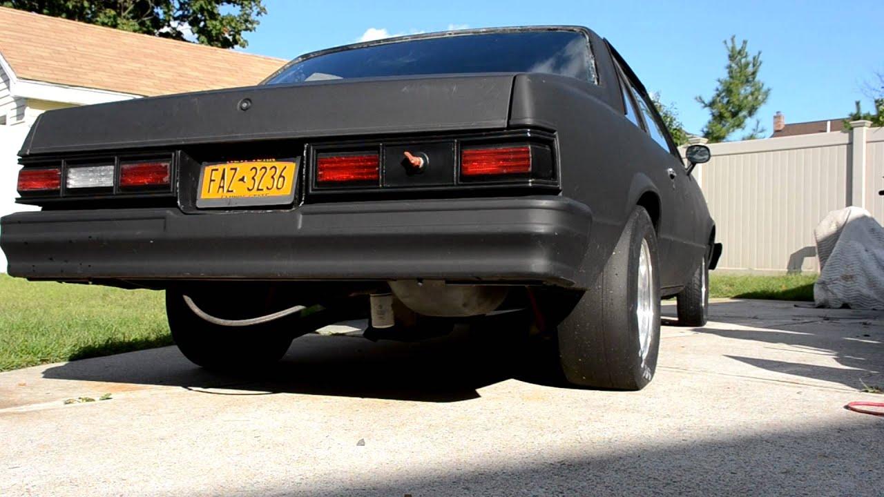 1980 Chevy Malibu idle OMG SO LOUD OMG - YouTube