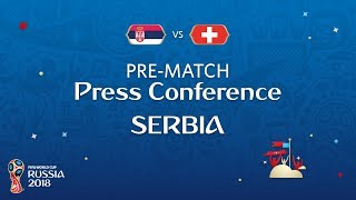 FIFA World Cup™ 2018: Serbia - Switzerland: Serbia - Pre-Match PC