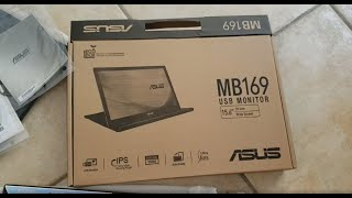 Product Review P0023 - ASUS MB169B+ Portable USB Monitor