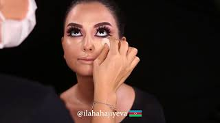 Cut Crease Make up By Ilaha Hajiyeva