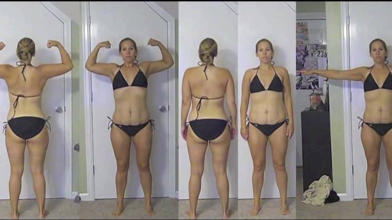 P90x Results Women Day 30 P90x 30 Day Results Body