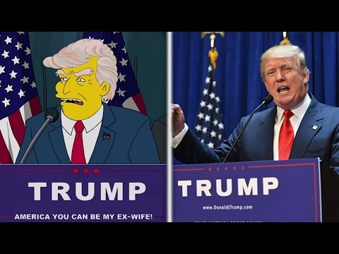 7 escalofriantes predicciones de Los Simpson para 2017