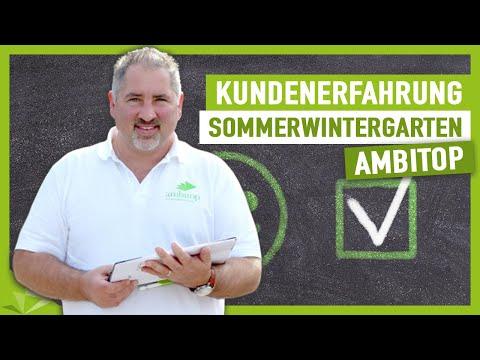 Kundenmeinungen Sommerwintergarten Mit Ambitop - Top Terrassendach