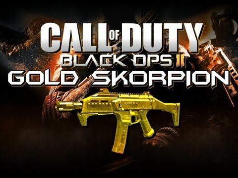 Gold Scorpion Black Ops 2 Black Ops 2 Gold Guns Gold