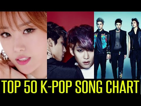 TOP 50 K-POP SONG CHART | OCTOBER 2014 (Week 3 Chart)