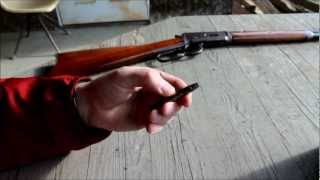 Shooting my Antique Model 1894 Winchester 32-40, Gun Made in 1907