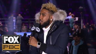 Jarrett Hurd on Jermell Charlo defeat: 'Everyone is as surprised as I am' | INTERVIEW | PBC ON FOX