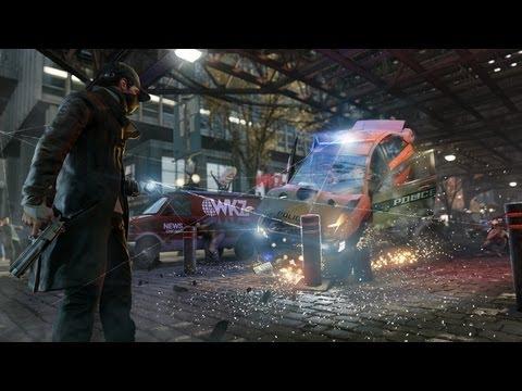 Поиграл в Watch Dogs - одна из самых ожидаемых игр в открытом мире, конкурент GTA 5