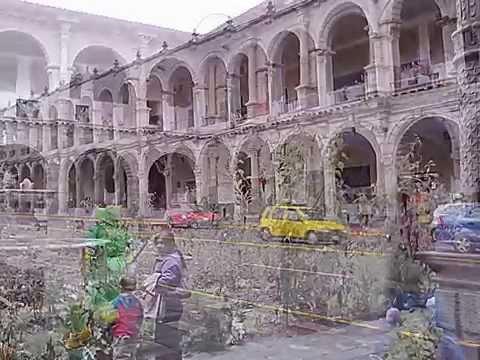 plaza mayor de laciudad del cuzco  lima  peru