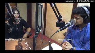 লাইভ শো'তে সেই নাসরিন সুলতানা    Valobashar Bangladesh Dhaka FM 90 4    Nasrin Sultana