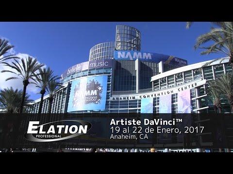 Elation Professional en Español - Artiste DaVinci (NAMM 2017)