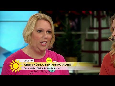 """""""Blivande föräldrar är skräckslagna över att inte hinna fram i tid"""" - Nyhetsmorgon (TV4)"""