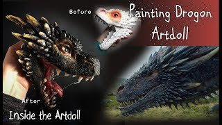Painting My Drogon Sculpt - Game of Thrones