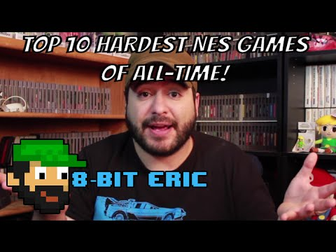 Top 10 Hardest NES Games of All-Time   8-Bit Eric