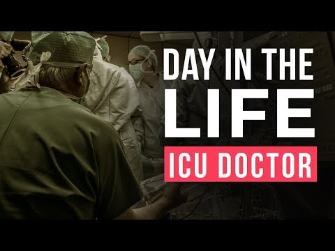 Day In The Life   ICU Doctor   4 Day Night Shift