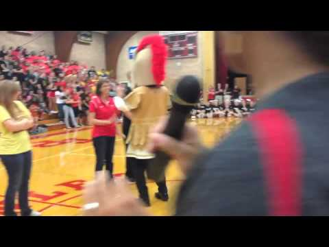 Surprise Marriage Proposal at Tinley Park High School