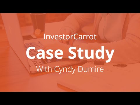 Investor Carrot Review and Case Study #5 - Cyndy Dumire of Quakertown, PA