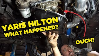 Yaris Hilton - What went wrong? (Engine Inspection)