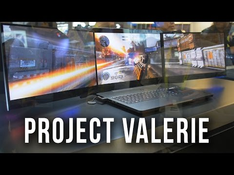 Three 4K Displays On A Laptop?! Razer's Project Valerie