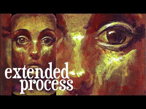 Portrait Illustration 002 extended process