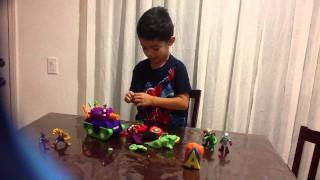 Play-doh suprise super heroes