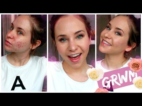 Get Ready With Me: Makeup for Acne Coverage Foundation Routine