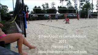 2011 Ethan-Oguz vs Larry-Addison Second Set