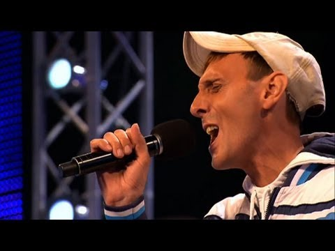 Johnny Robinson's audition - The X Factor 2011 - itv.com/xfactor