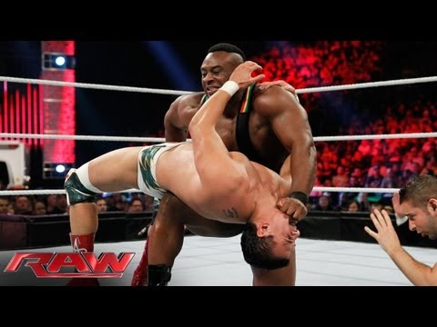 Alberto Del Rio vs. Big E. Langston: Raw, May 20, 2013