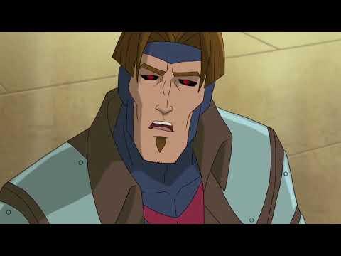Gambit arrives on Genosha