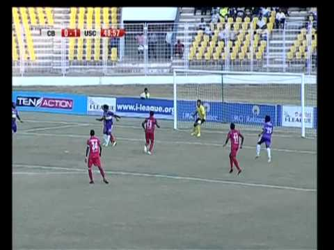 Churchill Bros vs United SC Match Highlights - April 19, 2014 (0-2)
