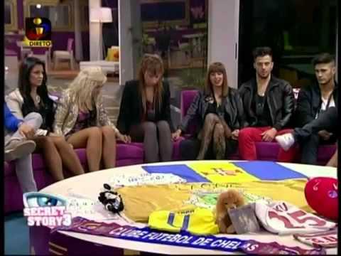 Secret Story 3 Casa dos Segredos - TVI - Diário da Noite - 05-11-2012