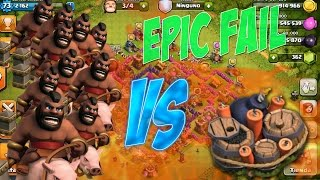 ¡¿X28 MONTAPUERCOS VS EXPLOSIVOS?! SUPER FAIL EPICO - Clash Of Clans Venezuela