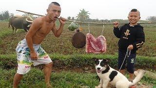 Lợn Múa Cột - Cười Đau Ruột Với Cách Nướng Thịt Lợn Của Anh Em Tam Mao