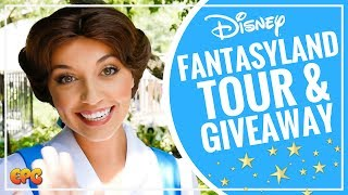 DISNEYLAND FANTASYLAND TOUR 2017 & GIVEAWAY | DEALING WITH ANXIETY