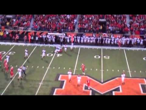 Kaleb Harris- Norwayne High School #5- 2011 Sophomore WR Highlight