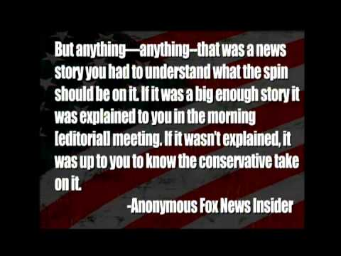 Fox News Insider Tells All To Media Matters