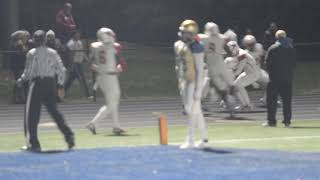 DeMatha Dominic Logan Nealy Int For TD and a 13 Point lead in 1st Quarter
