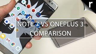 Galaxy Note 7 vs OnePlus 3: Twice the price, twice as good?