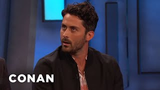 "Andy Bean On Meeting His ""IT"" Character's Younger Self - CONAN on TBS"