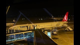 Boeing 777-300ER Turkish Airlines ТК27 Шанхай - Стамбул